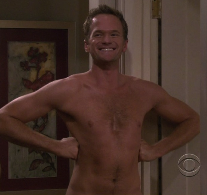 Barney Stinson, the naked man
